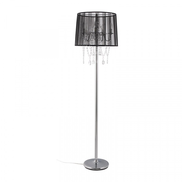 Lampa podłogowa Lounge Kokoon Design czarny FL00010BL