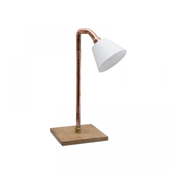Lampa stołowa Copper Pipe Gie El Botanica miedź LGH0450