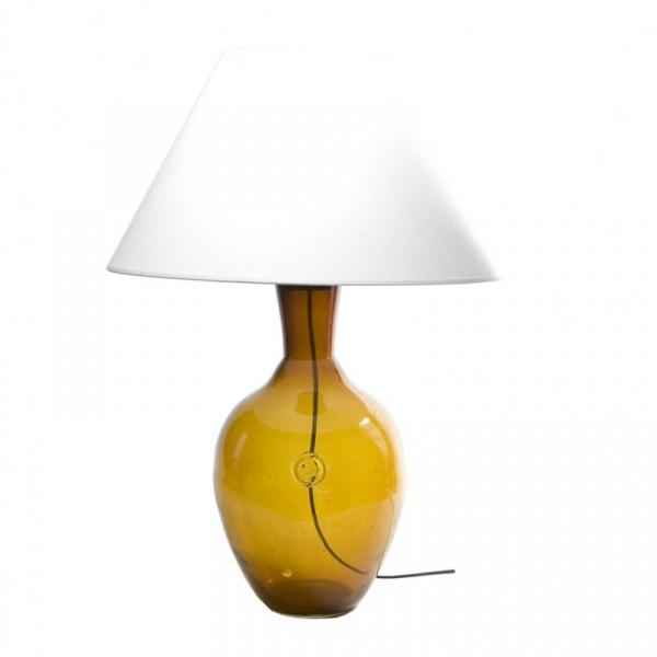 Lampa stołowa Gie El miodowy LGH0070