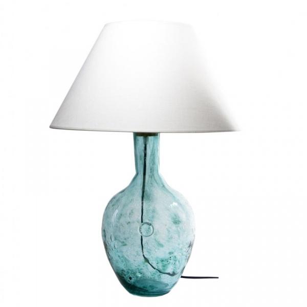 Lampa stołowa Gie El turkusowy LGH0071