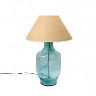 Lampa stołowa Gie El turkusowy
