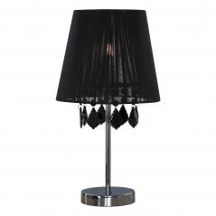 Lampa stołowa mała 42,5cm Light Prestige Mona czarna