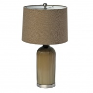 Lampa stołowa Teola 64 cm Miloo Home Mulberry brązowa