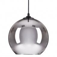 Lampa wisząca 25cm Step into design Mirror Glow srebrna