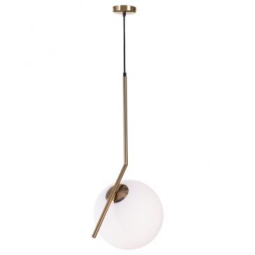 Lampa wisząca 30cm Step into design Solaris biało-złota )