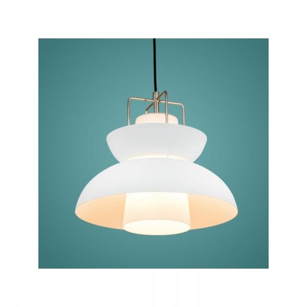 Lampa wisząca 32x36 cm ALTAVOLA DESIGN Scandinavian biała 5902249032543