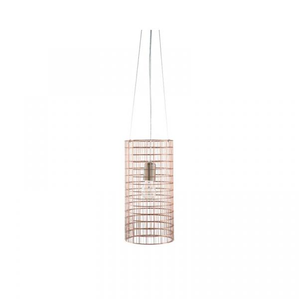 Lampa wisząca 36x18cm Copper Gie El Botanica miedź LGH0432