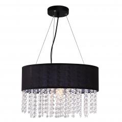 Lampa wisząca 40cm Light Prestige Madryt czarna