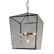 Lampa wisząca 41x41x61 cm Miloo Home Alumbrado przeźroczysta
