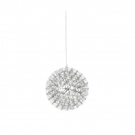 Lampa wisząca 45cm King Home Stellar chrom