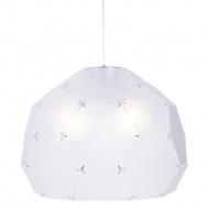 Lampa wisząca 80cm Step into design Dome półtransparentna