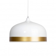 Lampa wisząca biało-złota Engelberto BLmeble