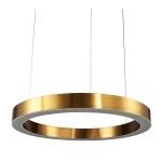 Lampa wisząca CIRCLE 80 ledowa 80 cm mosiądz