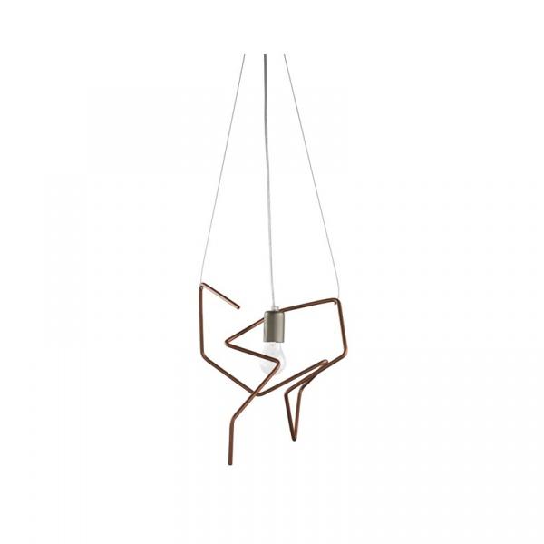 Lampa wisząca Copper Gie El Botanica miedź LGH0430
