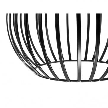 Lampa wisząca czarna SEGURA