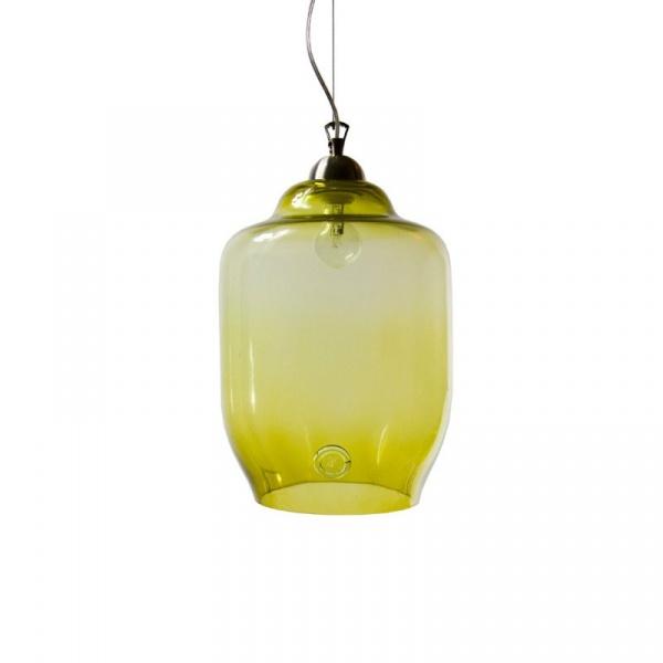 Lampa wisząca duża Gie El oliwkowy LGH0102