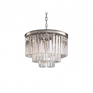 Lampa wisząca Illumination Miloo Home Alumbrado transparentna