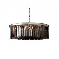 Lampa wisząca Ilumination 80cm Miloo Home Alumbrado szara