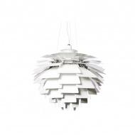 Lampa wisząca King Home Artichoke 48 biała