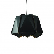 Lampa wisząca King Home Origami 40 czarny mat