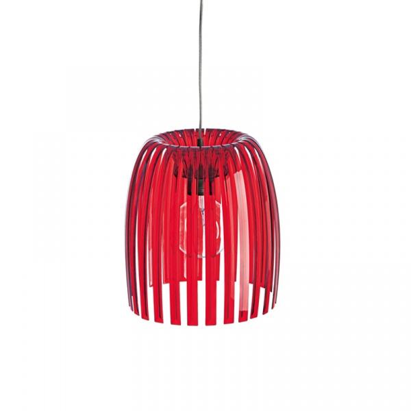 Lampa wisząca Koziol Josephine M czerwona  KZ-1930536