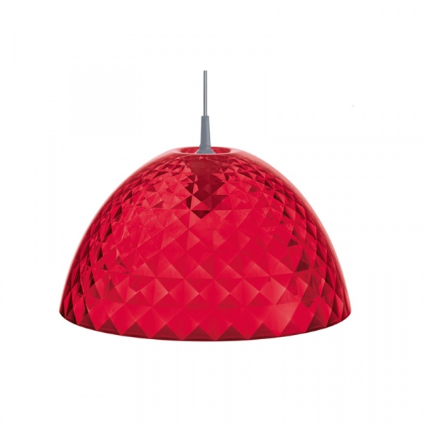 Lampa wisząca Koziol Stella M czerwona KZ-1941536