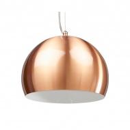 Lampa wisząca Kupol Kokoon Design miedź
