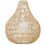 Lampa wisząca papierowa plecionka piaskowa MOLOPO