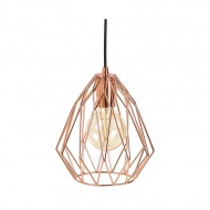 Lampa wisząca Paral Kokoon Design miedź