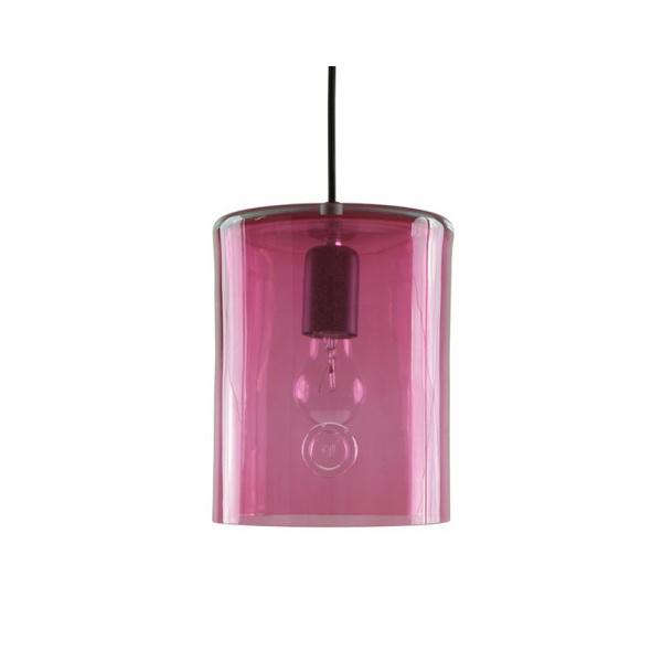 Lampa wisząca podłużna 18cm Gie El Botanica różowy LGH0412