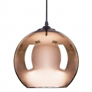 Lampa wisząca Step into design Mirror Glow miedziana