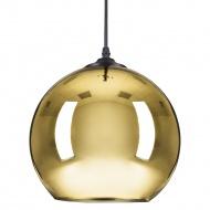 Lampa wisząca Step into design Mirror Glow złota