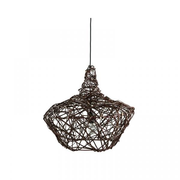 Lampa wisząca wiklinowa 45x52cm Willow Gie El Botanica LGH0440