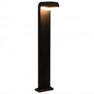 Lampa zewnętrzna LED, 9 W, czarna, owalna