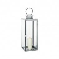 Lampion średni, 20x20x63 cm Cilio Torre przezroczysty