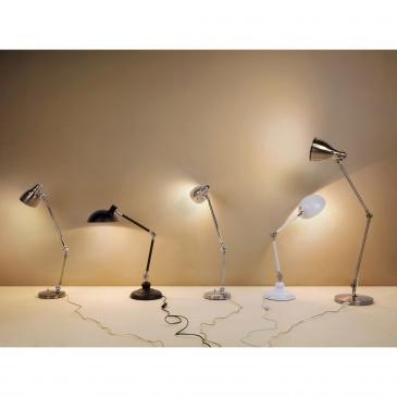 Lampka nocna - w kolorze czarnym - stojąca - żarówka gratis - MERAMEC