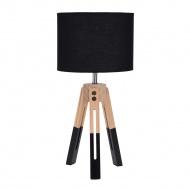 Lampka stołowa Intesi Brex czarna