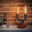 Lampka stołowa ręcznie robiona Hengill Custom Woods CL-010