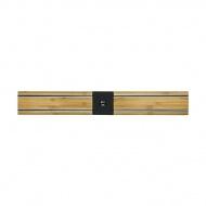 Listwa magnetyczna 450mm Bisbell Bambus dwuczęściowa