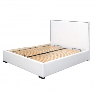 Łóżko Mallister z pojemnikiem na pościel 198x224x125 cm
