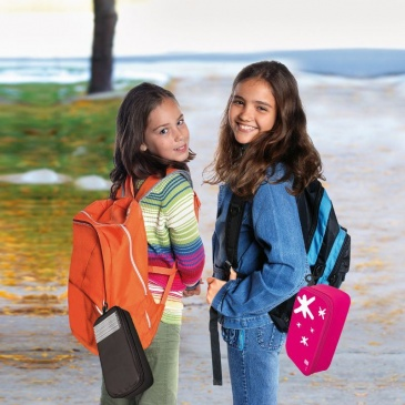 Lunch Bag na kanapkę Iris Infantil różowy