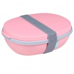 Lunchbox Ellipse Duo Nordic Pink 107640076700