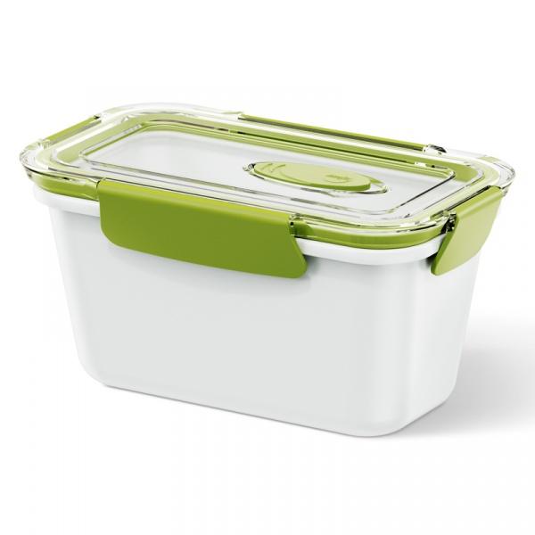 Lunchbox wysoki 0,9 L EMSA Bento Box biało-zielony EM-513959