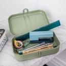 Lunchbox z separatorem 16,6x23,2x6,2 cm Koziol ORGANIC PASCAL L szary KZ-3152670