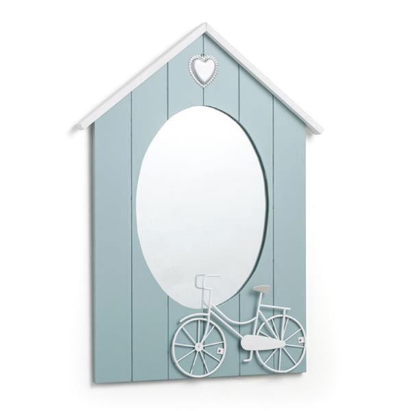 Lusterko wiszące Brandani Mirror Dove niebieski 55947