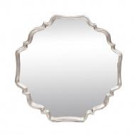 Lustro Arabesque 81x81cm Miloo Home Maravillo srebrne