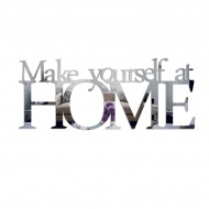 Lustro dekoracyjne DekoSign MAKE YOURSELF AT HOME plexi