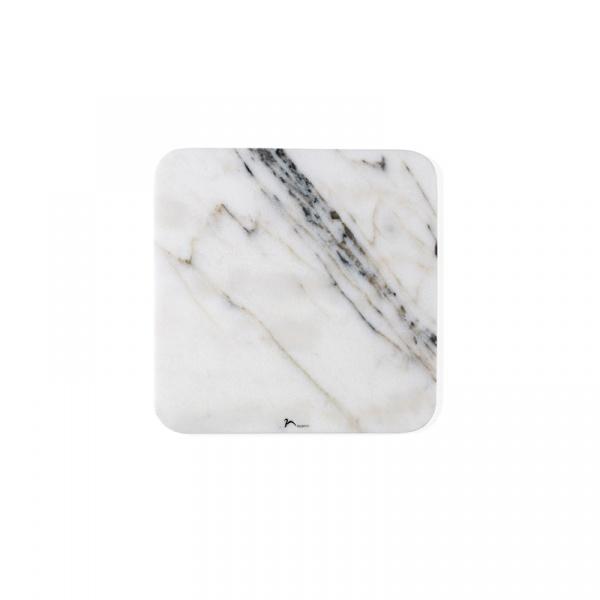 Marmurowa deska do serwowania 30 x 30 cm Nuance jasna 462901