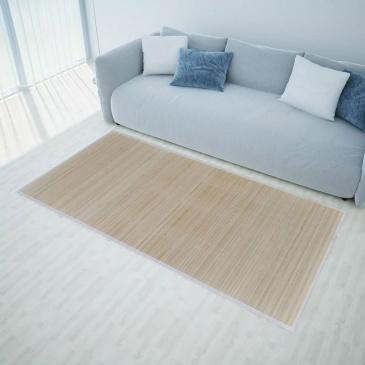 Mata bambusowa na podłogę, 100x160 cm, naturalna