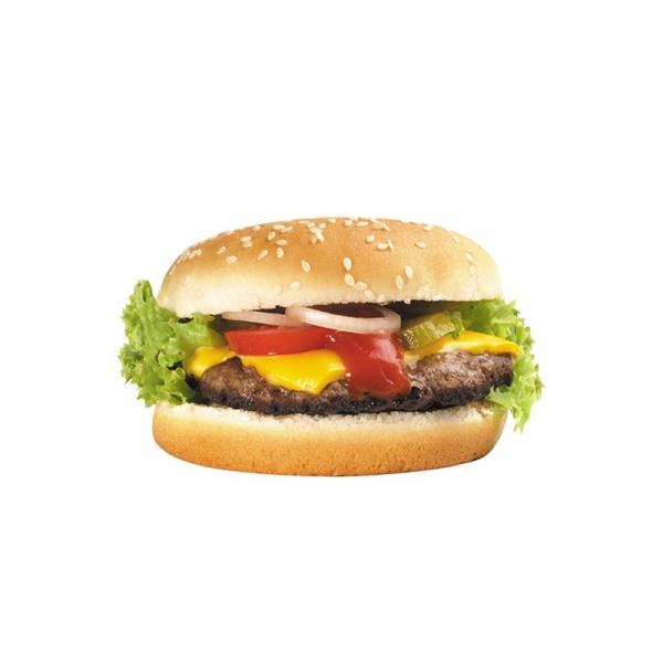 Mata na stół 45 x 28 cm Nuova R2S Easy Life cheeseburger T22216